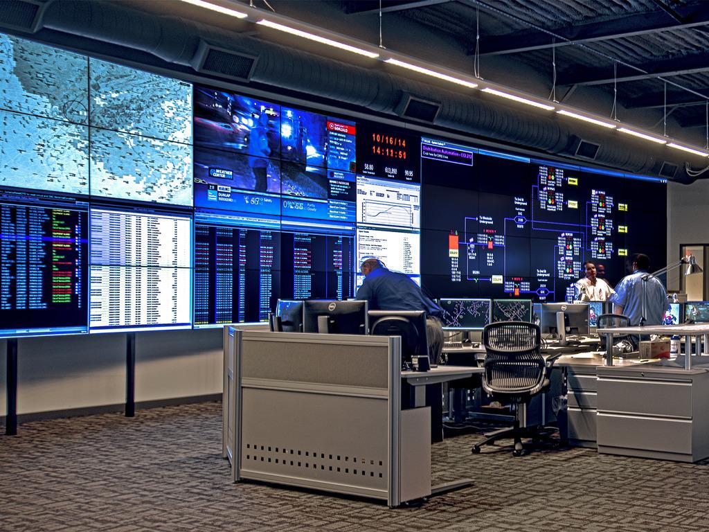 Видеостена CLARITY MATRIX на электростанции, Тенесси, США