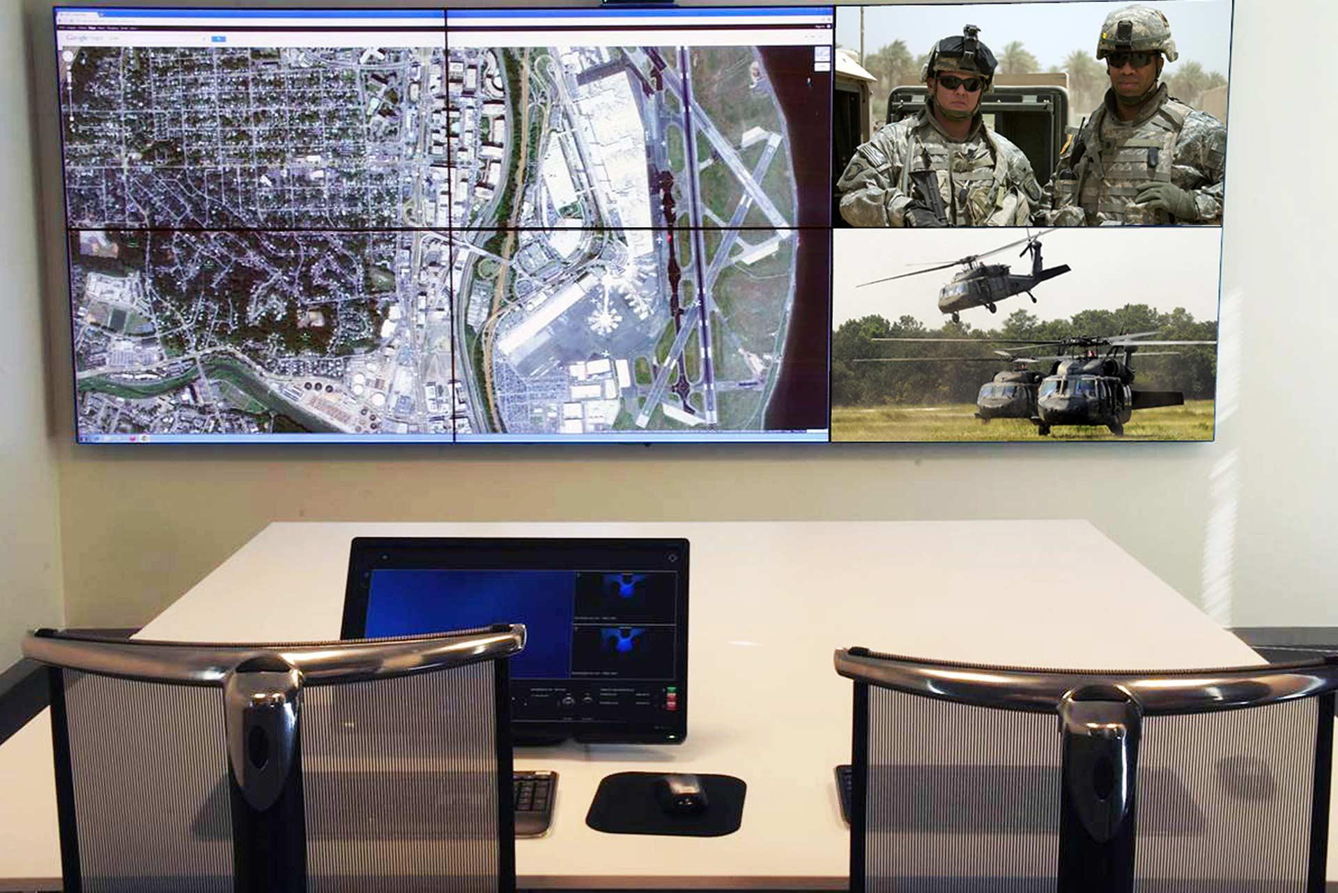 Видеостена Planar Matrix G2 в диспетчерском пункте АО Транснефть Россия