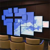 Архитектурная видеостена Planar Mosaic